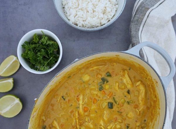 Frijsenborg Indisk gryderet med kylling og grøntsager