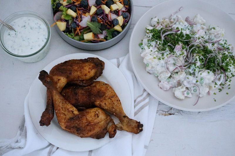 Frijsenborg kyllingelår med chipotle