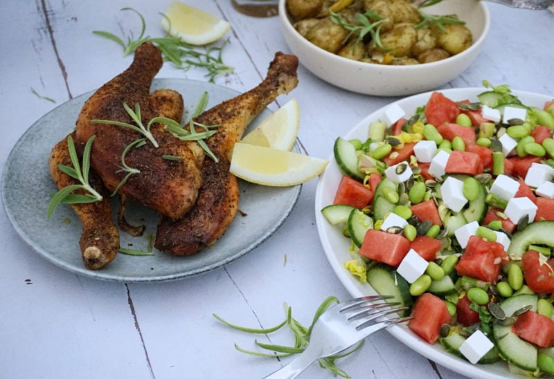 Frijsenborg kyllingelår med rosmarin og citron