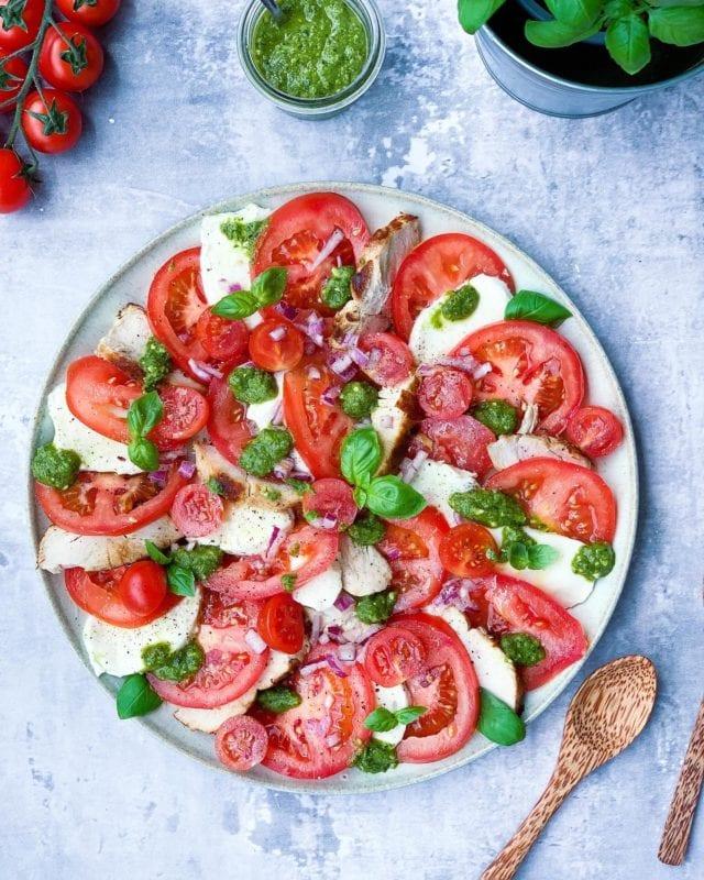 Frijsenborg tomatsalat med kylling